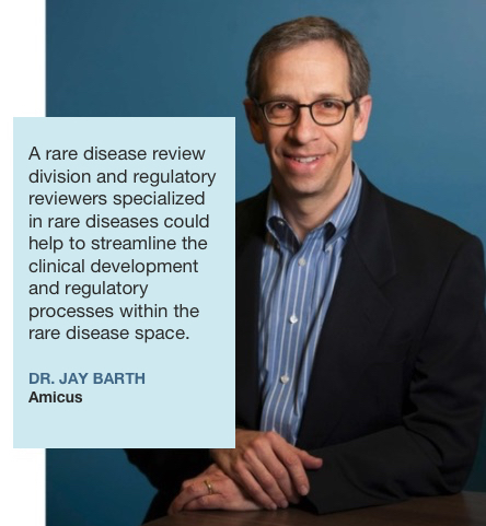 Amicus Therapeutic's Jay Barth featured in Pharmavoice